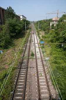 Free Train Tracks Stock Images - 15054334