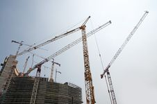 Free Construction Of A Skyscraper (Milan, Italy) Stock Photo - 15054600