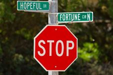 Free Hopeful Drive And Fortune Circle Stock Image - 15054741