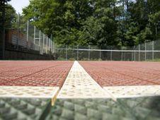Free Tennis Court Royalty Free Stock Photos - 15055358