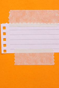 Free Note Paper Royalty Free Stock Photo - 15055705