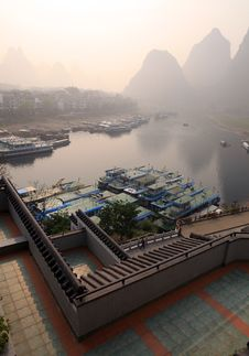 Guilin Landscapes Stock Photography