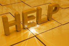 Free Help Royalty Free Stock Photo - 15056825