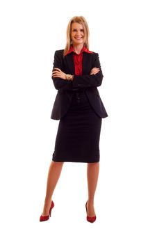 Free Blond Businesswoman Royalty Free Stock Images - 15057299
