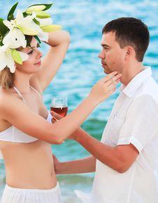 Free Romantic Couple Royalty Free Stock Photos - 15058708