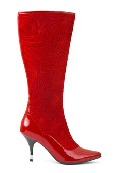 Free Red Woman Boot Royalty Free Stock Photo - 15058835