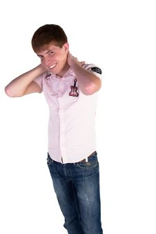 Free Young Man Royalty Free Stock Photography - 15059687