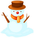 Free Snowman Royalty Free Stock Photography - 15062967