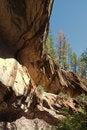 Free Rock Ridge Above Creek Stock Photography - 15064002