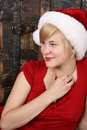 Free Blond Christmas Female Royalty Free Stock Images - 15069459