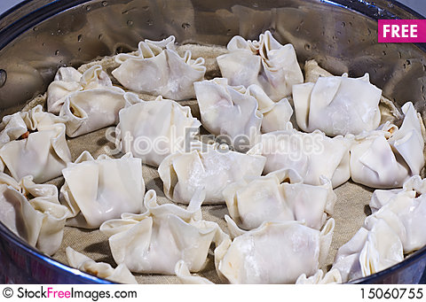 Free Dumplings During Prepare Royalty Free Stock Photo - 15060755