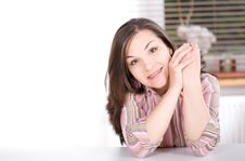 Free Relaxing Woman Royalty Free Stock Photos - 15060288