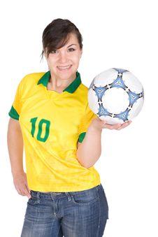 Free Football Fan Stock Photo - 15060570