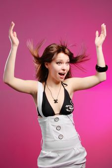 Free Surprised Woman Stock Photography - 15060652