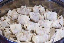 Free Dumplings During Prepare Royalty Free Stock Photo - 15060755