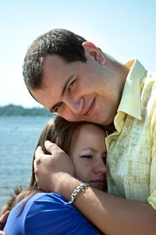 Young Attractive Couple Stock Photo