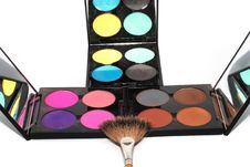 Free Palette For Make-up Royalty Free Stock Photo - 15061115