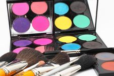 Free Palette For Make-up Royalty Free Stock Photography - 15061217