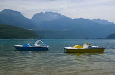Lake Annecy, France Royalty Free Stock Photography