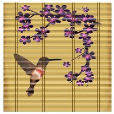 Free Bamboo Mat In The Asian Style Royalty Free Stock Images - 15061449