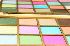 Free Palette For Make-up Royalty Free Stock Image - 15061616