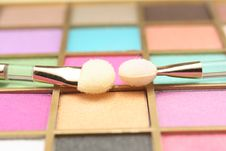 Free Palette For Make-up Royalty Free Stock Photo - 15061655