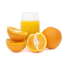 Free Glass Of Orange Juice Royalty Free Stock Photography - 15062377