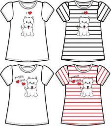 Free Tshirt Print Royalty Free Stock Photography - 15063197