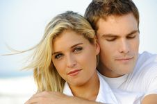 Free Beautiful Young Couple Stock Image - 15063561