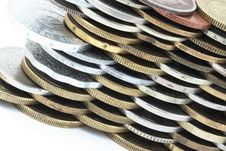 Free Different Metal Coins Royalty Free Stock Photography - 15063607