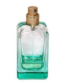 Pulverizer With Perfume Stock Photo