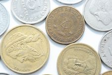 Free Different Metal Coins Stock Photos - 15063883