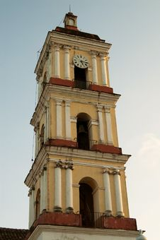 Free Church Bell Tower Royalty Free Stock Photography - 15064087