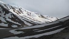 The Himalayas: Baralacha Pass Stock Photography
