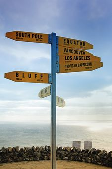 Free Directional Signpost Stock Image - 15064911