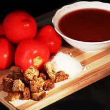 Free Tomato Soup Stock Image - 15065141