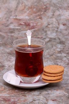 Free Tea And Cookies Stock Photos - 15065403
