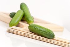 Free Healthy Cucumber Snack Stock Images - 15065634