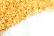 Free Crystalline Sugar And Granulated Sugar Stock Image - 15065751