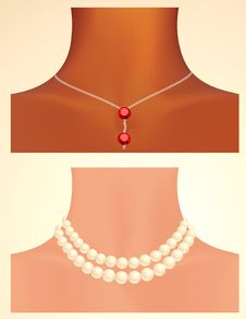 Free Woman Neck Royalty Free Stock Photography - 15065867