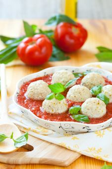 Free Steamed Chicken Meatballs Royalty Free Stock Photo - 15066105