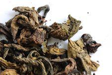 Free Dry Chinese Tea Leaf. Stock Image - 15066151