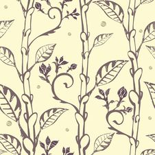 Free Floral Seamless  Background Royalty Free Stock Photos - 15066778