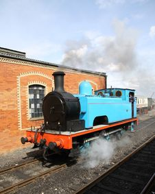 Free Steam Loco Royalty Free Stock Photos - 15067638