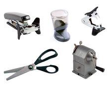 Free Staples Sharpener Dispenser Scissors Royalty Free Stock Images - 15067709