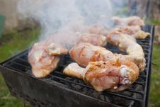 Free Grilled Chicken Marinated Royalty Free Stock Photos - 15067728