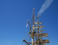 Free Mast Of Sailing Ship Royalty Free Stock Photos - 15068718