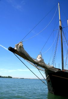 Free The Bowsprit Of Retro Ship Royalty Free Stock Images - 15068739