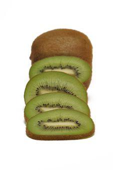 Free Kiwi With Slices Royalty Free Stock Image - 15069066