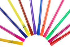 Free Color Pen Royalty Free Stock Photography - 15069407